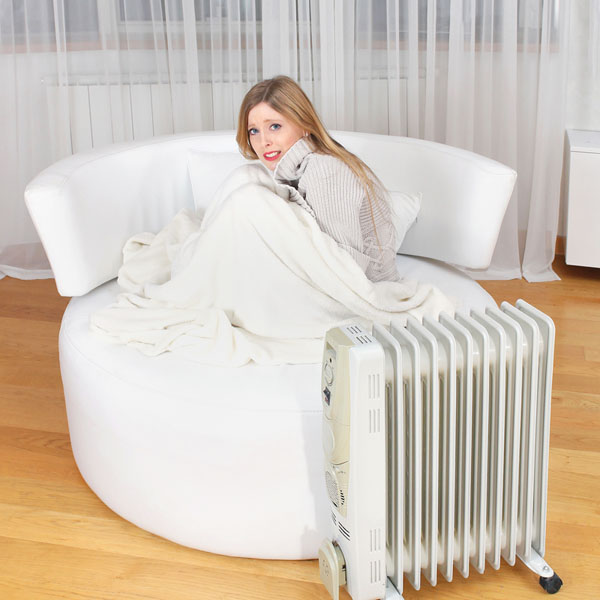 Chauffage d'appoint pour les froids extrêmes